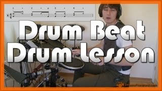 ★ Walk This Way (Aerosmith) ★ Drum Lesson | How To Play Drum Beat (Joey Kramer)