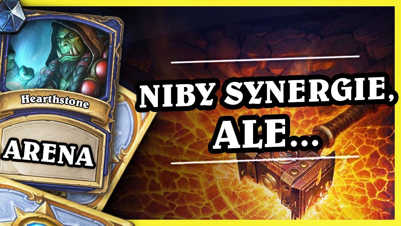 NIBY SYNERGIE, ALE… – SHAMAN – Hearthstone Arena