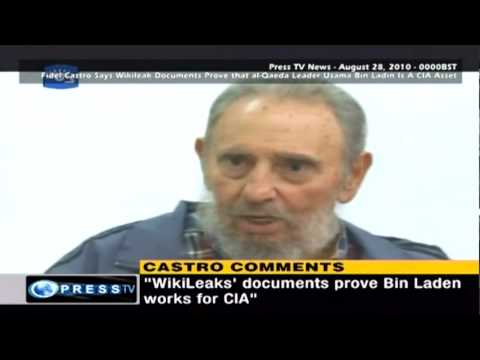 Fidel Castro Says Wikileak Documents Prove Osama Bin Laden is a CIA Agent