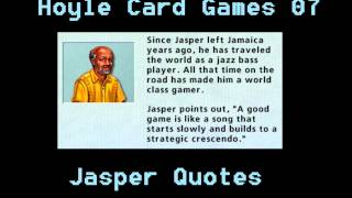 Hoyle Card Games - Jasper Quotes