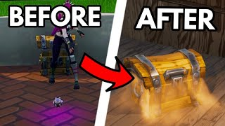 How To OPEN Any CHEST TWICE *GLITCH* (UNLIMITED CHEST) Fortnite BR Any Platform!