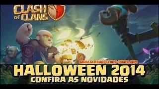 Nueva Actualización Clash of clans-Halloween Octubre 2014 -Pócima de Rayo-