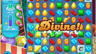 Candy Crush Soda Saga Level 1151 No Boosters