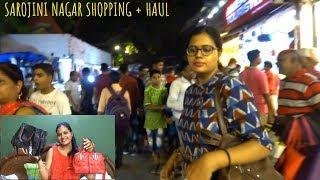 Sarojini Nagar market Visit + Shopping Haul || Cloths and bags || very Affordable shopping haul 2018