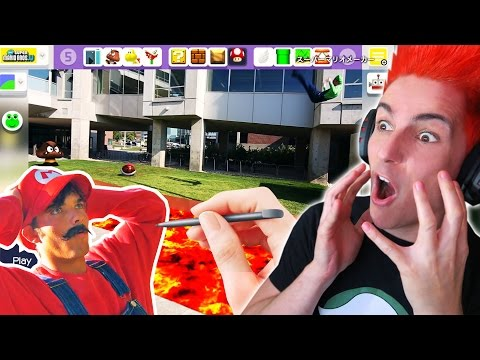 SUPER MARIO PARKOUR (In Real Life) + MARIO MAKER | Video Reaccion