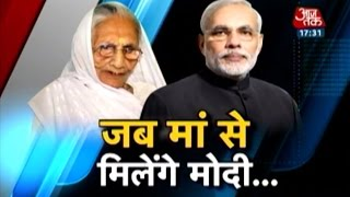 PM Modi to visit mother Heeraben on birthday