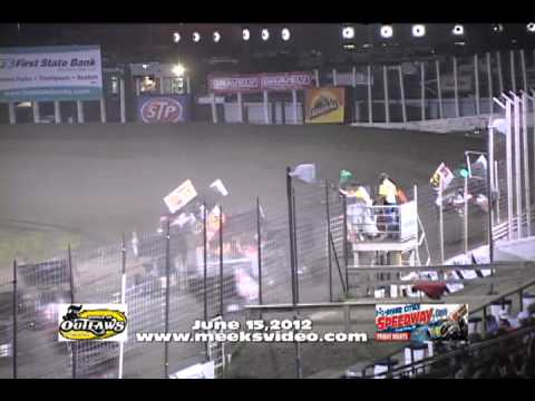 The World of Outlaws Sprint Car Series - River Cities Speedway Highlights