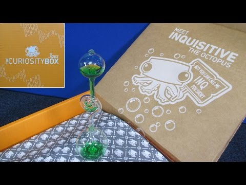 The Curiosity Box By VSauce Unboxing Video By RaceGrooves   Quarterly Subscription Program
