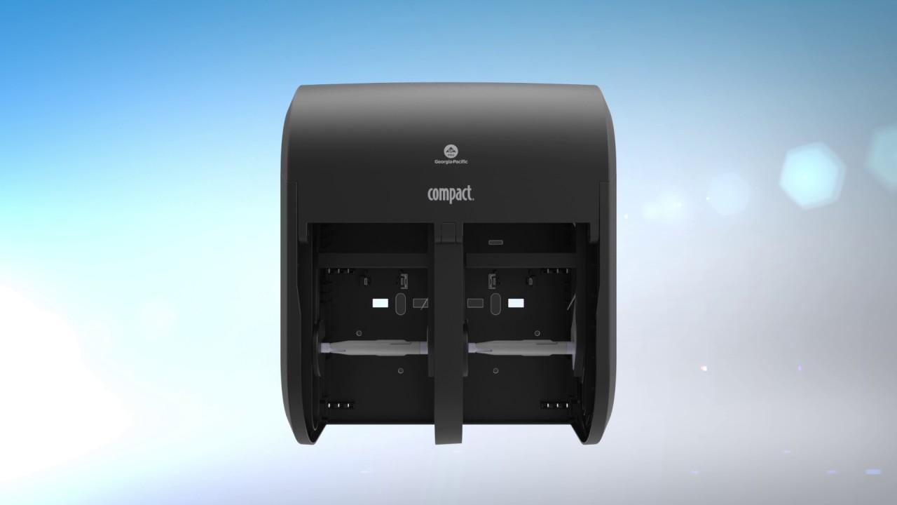 Compact 174 Vertical Tissue Dispenser Full Instructions
