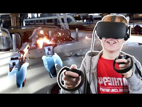 EPIC SHOOTER GAME WITH OCULUS TOUCH! | Bullet Train VR (Oculus Rift CV1 Gameplay)