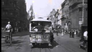 Collins St 1910 Melbourne