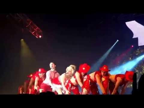Jake Shears & Courtney Act Live Performance at Sydney Mardi Gras 2015