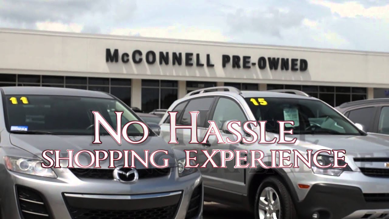McConnell Automotive Mobile Alabama Pre Owned Certified Auto