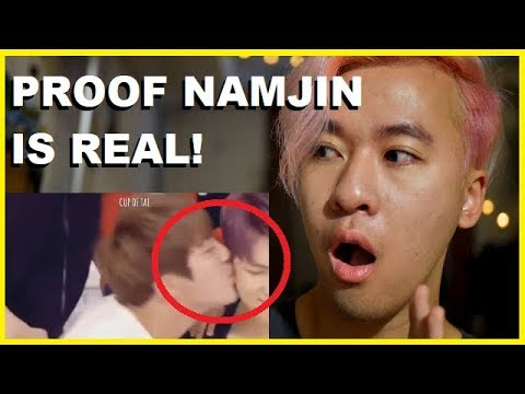 NAMJIN MOMENTS: FIRST TIME REACTING TO NAMJOON x JIN CUTE MOMENTS | BTS Reaction