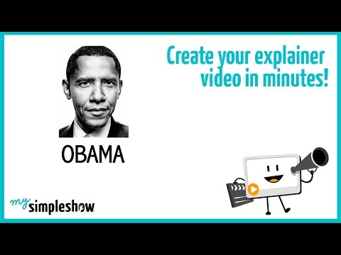 Find out about Barack Obama in this short explainer video.                              Create your own video with mysimpleshow.com