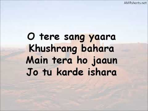 Tere Sang Yaara Lyrics Video Mp3