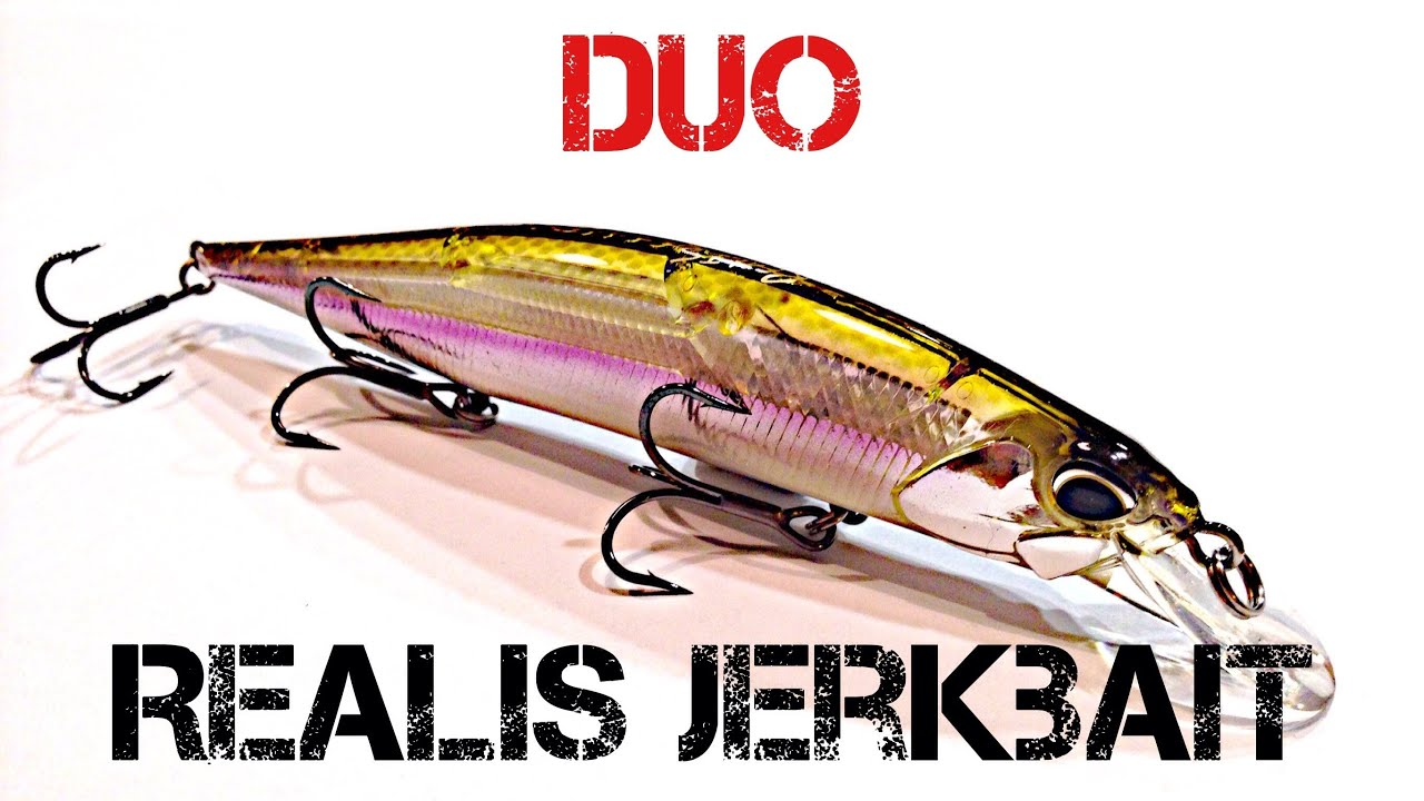Lure Review- DUO Realis Jerkbait - YouTube