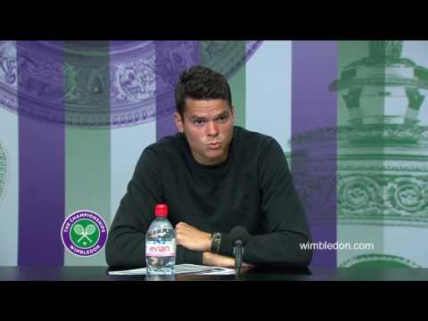 Milos Raonic quarter-final press conference