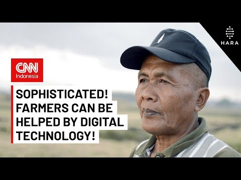 Sophisticated! Farmers can be Helped by Digital Technology (CNN Indonesia - English Subtitle)
