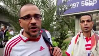رصد |  جماهير الزمالك أثناء ذهابهم إلى استاد برج العرب لحضور نهائي دوري أبطال افريقيا