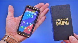 Smallest Rugged Phone Ever! Cubot KINGKONG Mini