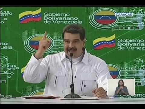 Maduro responde a amenazas del gobierno estadounidense de atacar los CLAP