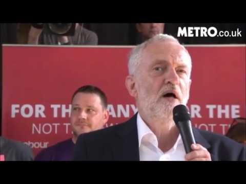 Jeremy Corbyn's visit to Northhamptonshire