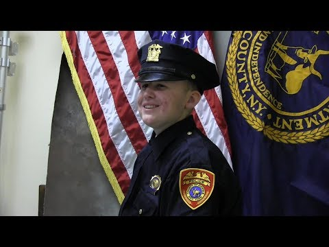Watch 16-Year-Old Battling Cancer Get Sworn In as Police Detective