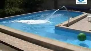 Строительство бассейна на участке дома