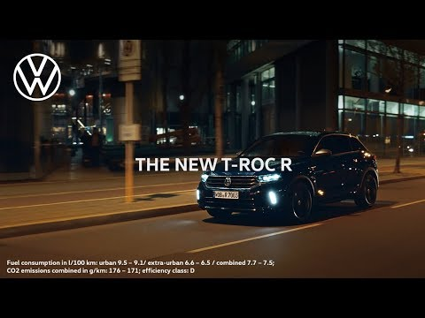 The new T-Roc R: Beautifully Strong | Volkswagen
