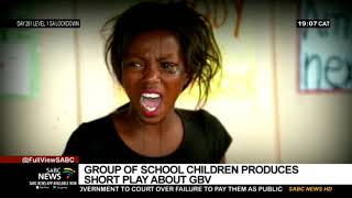Primary School Children, Teacher Produce A Short Play About GBV In IsiXhosa