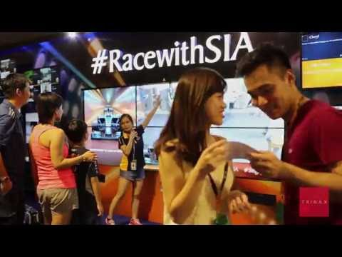 SIA - F1 Interactive Photobooth & Social Wall 2015