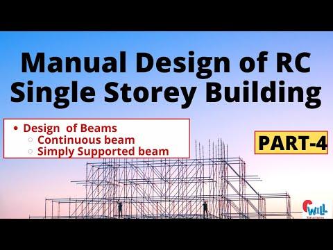 Manual Design of RC BLD part-4  RC beam design  Civil Engineering