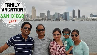 My First Travel Vlog | Family Trip To San Diego- 2018 | Real Homemaking