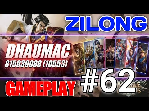 WHEN DHAUMAC USE ZILONG IN RANK MATCH SEE WHAT HAPPENED NEXT!!!|DHAUMAC GAMEPLAY