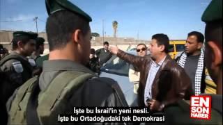 Tek başına İsrail askerlerini susturan Filistinli