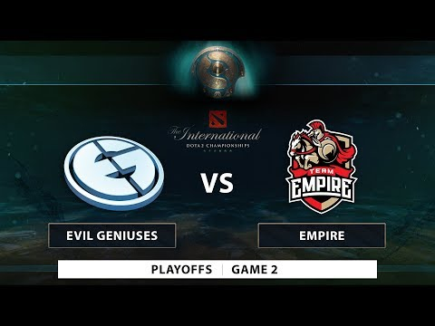 Evil Geniuses vs Empire | Game 2 | Playoffs | PH Coverage