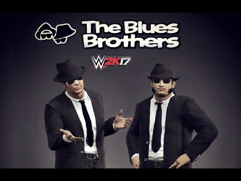WWE 2K17 - the Blues Brothers