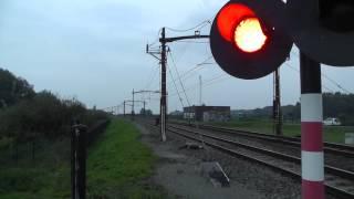 186 198 NMBS 2806 Benelux,  51.73306 4.63643 Moerdijkbrug,  24-9-2014