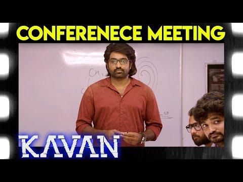 Kavan - Conferenece Meeting Scene | T. Rajendar | Madonna Sebastian