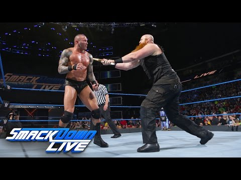 Randy Orton vs. Erick Rowan - No Disqualification Match: SmackDown LIVE, April 25, 2017