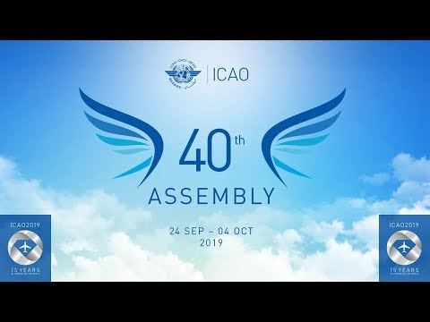 ICAO A40 Day 7 - Plenary
