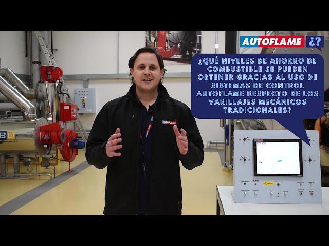 ¿Cuánto ahorro de combustible pueden dar los sistemas Autoflame frente a los varillajes mecánicos?