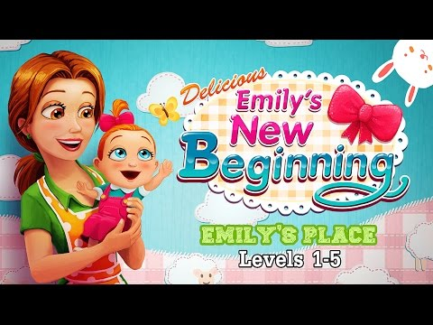 Delicious 10: Emily's New Beginning [HD Gameplay] – Emily's Place (Levels 1-5)
