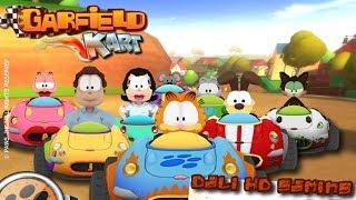 Garfield Kart PC Gameplay FullHD 1440p