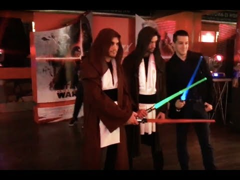 Montenegro premiere of  STAR WARS VIII - The Last Jedi - 13.12.2017