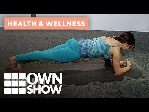 an express yoga move for the entire body  ownshow