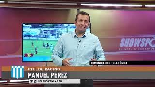 Racing   Manuel Perez en El Show En La Red 26 03 2020