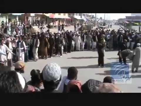 Video: Celebrating General Hamid Gul's death in Paktika province