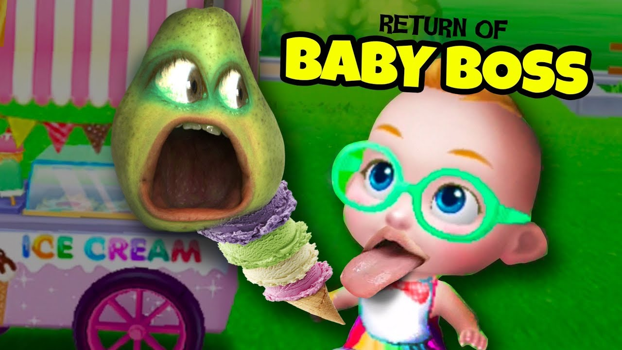 Download Return of BABY BOSS!!!   Pear Forced to Babysit Again!